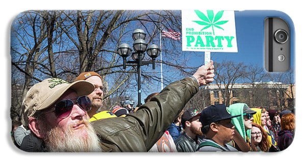 Legalisation Of Marijuana Rally IPhone 6 Plus Case