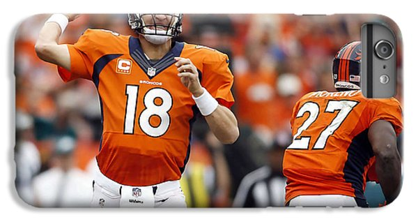 Peyton Manning  IPhone 6 Plus Case by Marvin Blaine