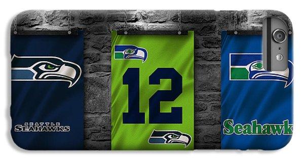 Seattle Seahawks IPhone 6 Plus Case by Joe Hamilton