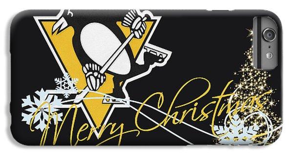 Penguin iPhone 6 Plus Case - Pittsburgh Penguins by Joe Hamilton