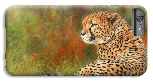 Cheetah IPhone 6 Plus Case by David Stribbling