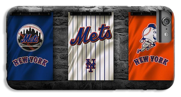New York Mets iPhone 6 Plus Case - New York Mets by Joe Hamilton
