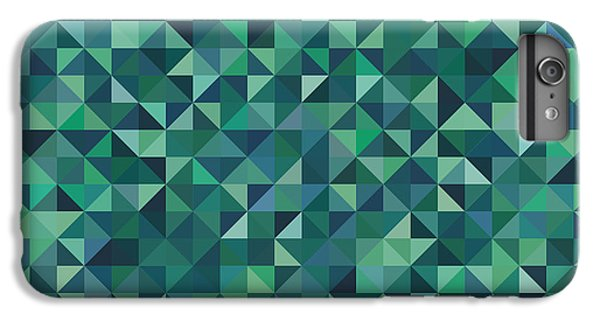 Green iPhone 6 Plus Case - Pixel Art by Mike Taylor