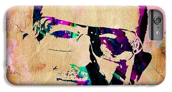 Bono U2 IPhone 6 Plus Case by Marvin Blaine