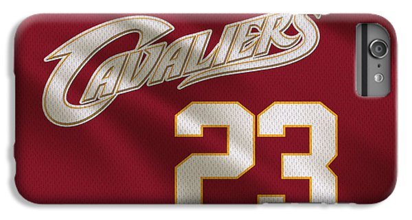 Cleveland Cavaliers Uniform IPhone 6 Plus Case by Joe Hamilton