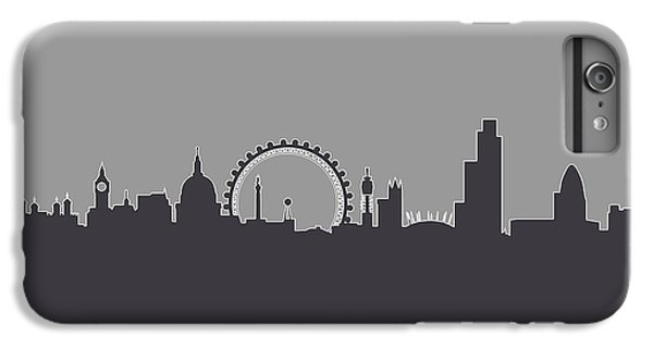 London iPhone 6 Plus Case - London England Skyline by Michael Tompsett