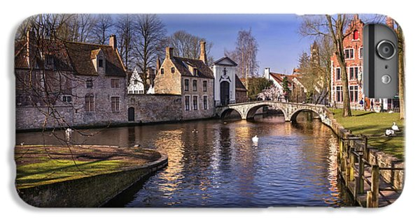 Blue Bruges IPhone 6 Plus Case by Carol Japp