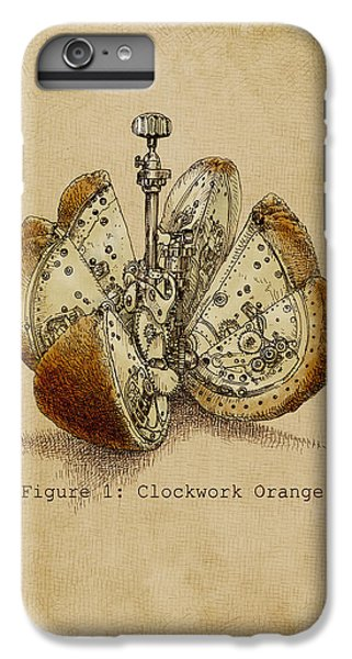 Fruit iPhone 6 Plus Case - Steampunk Orange - Option by Eric Fan