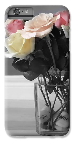 Rose iPhone 6 Plus Case - A Foundation Of Love by Cathy Beharriell