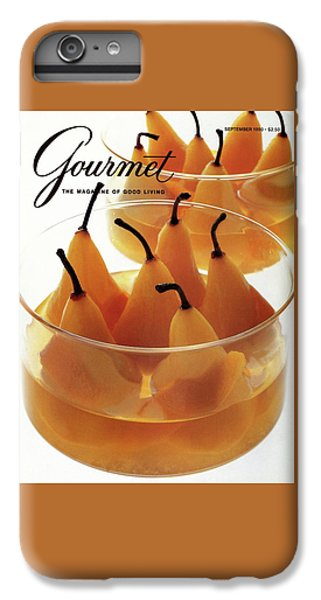 A Gourmet Cover Of Baked Pears IPhone 6 Plus Case