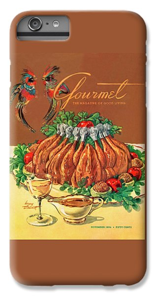 Artichoke iPhone 6 Plus Case - A Gourmet Cover Of Chicken by Henry Stahlhut