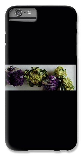 Cauliflower iPhone 6 Plus Case - A Group Of Cauliflower Heads by Romulo Yanes