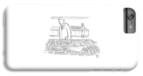 A Laboratory Scientist Looks On As The Walls IPhone 6 Plus Case by Paul Noth