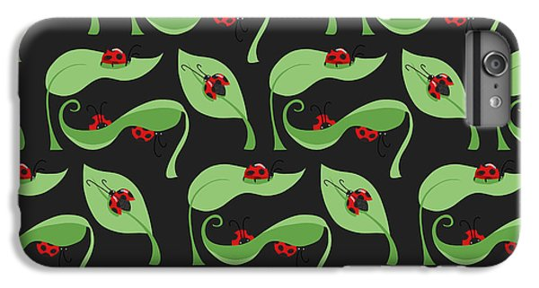 A Litte Bug IPhone 6 Plus Case by Debra  Miller