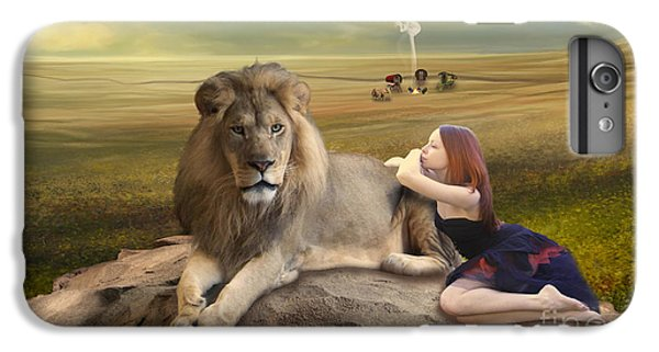 A Magnificent Friendship IPhone 6 Plus Case by Linda Lees