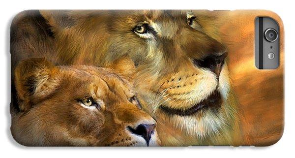 Lion iPhone 6 Plus Case - A New Dawn by Carol Cavalaris