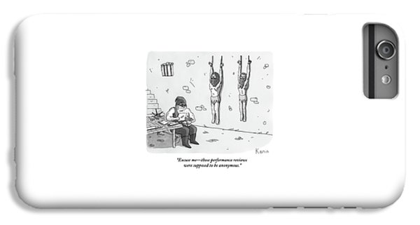 A Prisoner In A Dungeon Speaks To A Torturer Who IPhone 6 Plus Case by Zachary Kanin