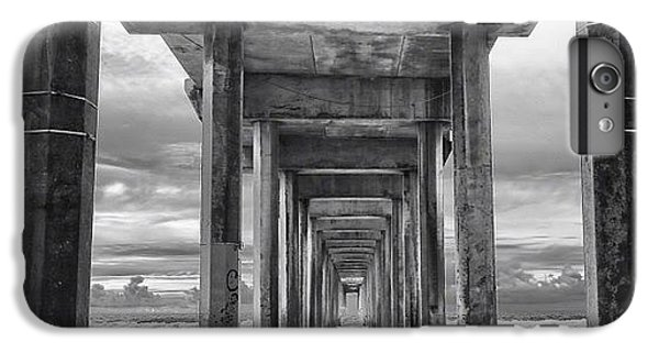iPhone 6 Plus Case - A Stormy Day In San Diego At The by Larry Marshall