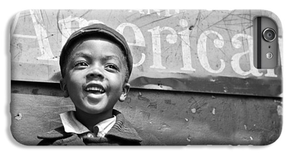 A Young Harlem Newsboy IPhone 6 Plus Case by Underwood Archives