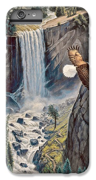Eagle iPhone 6 Plus Case - Above The Falls - Vernal Falls by Paul Krapf
