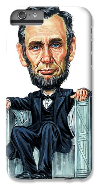 Abraham Lincoln IPhone 6 Plus Case by Art