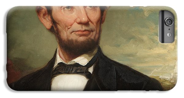 Abraham Lincoln  IPhone 6 Plus Case by George Henry Story