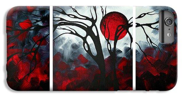 Barren iPhone 6 Plus Case - Abstract Gothic Art Original Landscape Painting Imagine By Madart by Megan Duncanson