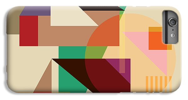 Abstract Shapes #4 IPhone 6 Plus Case by Gary Grayson