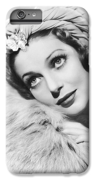 Actress Loretta Young IPhone 6 Plus Case