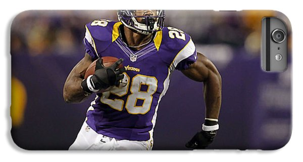 Adrian Peterson IPhone 6 Plus Case by Marvin Blaine