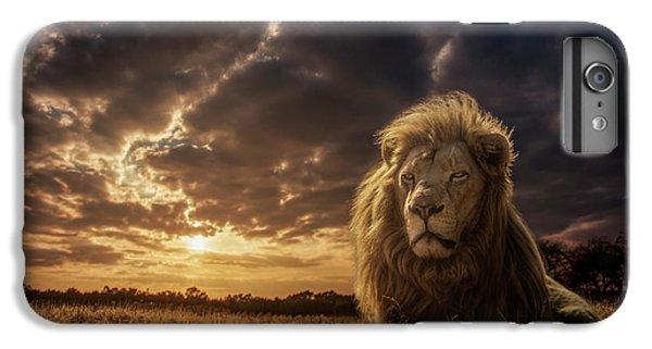 Lion iPhone 6 Plus Case - Adventures On Savannah - The Lion King by Jackson Carvalho