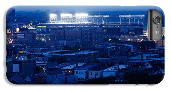 Aerial View Of A City, Wrigley Field IPhone 6 Plus Case by Panoramic Images