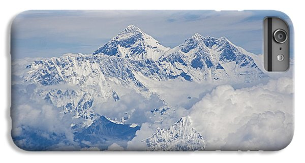 Aerial View Of Mount Everest IPhone 6 Plus Case by Hitendra SINKAR