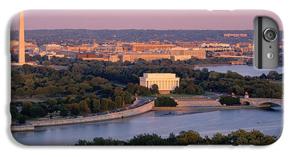 Aerial, Washington Dc, District Of IPhone 6 Plus Case by Panoramic Images