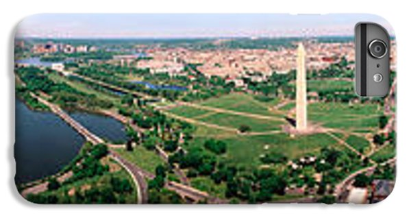Jefferson Memorial iPhone 6 Plus Case - Aerial Washington Dc Usa by Panoramic Images