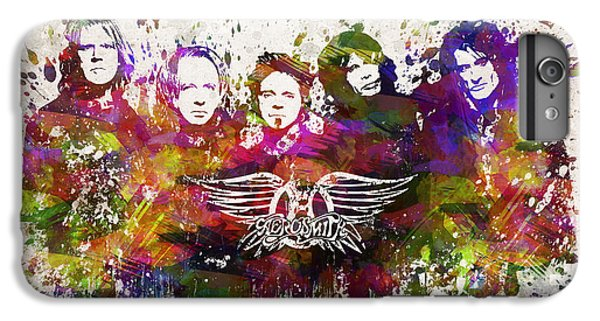 Aerosmith In Color IPhone 6 Plus Case by Aged Pixel
