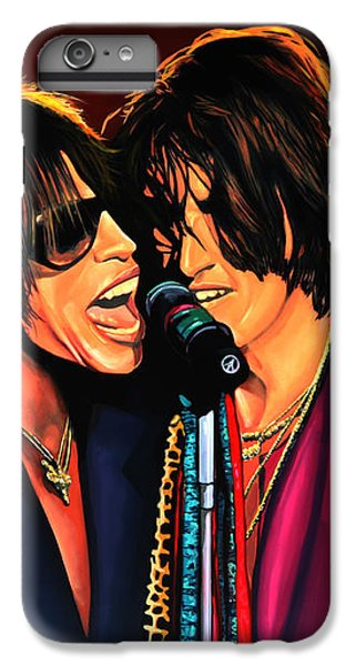 Aerosmith Toxic Twins Painting IPhone 6 Plus Case by Paul Meijering