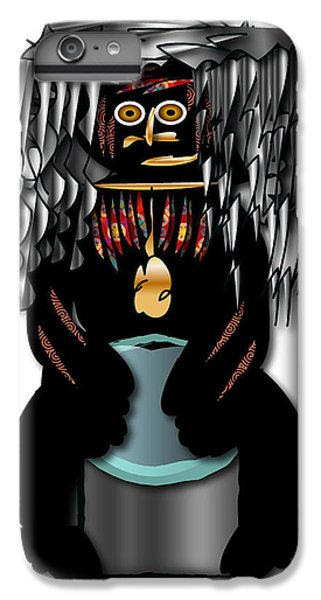 IPhone 6 Plus Case featuring the digital art African Drummer 2 by Marvin Blaine