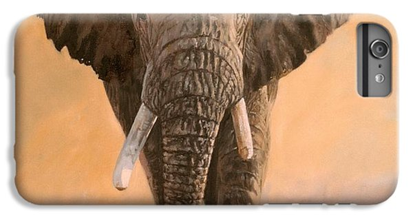 Elephant iPhone 6 Plus Case - African Elephants by David Stribbling