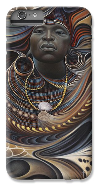 Africa iPhone 6 Plus Case - African Spirits I by Ricardo Chavez-Mendez