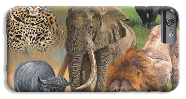 Africa's Big Five IPhone 6 Plus Case by David Stribbling