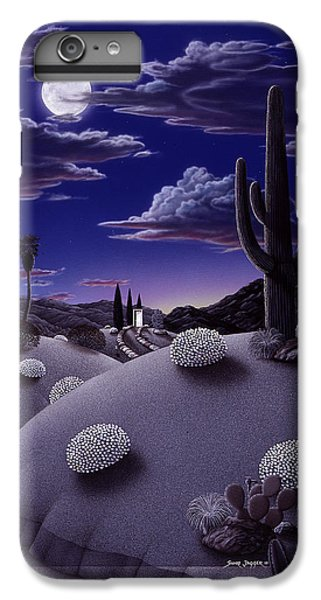 Desert iPhone 6 Plus Case - After The Rain by Snake Jagger