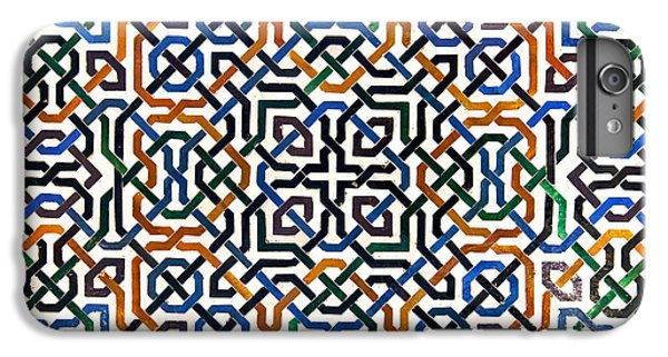 Alhambra Tile Detail IPhone 6 Plus Case by Jane Rix