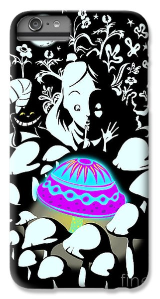 Fairy iPhone 6 Plus Case - Alice's Magic Discovery by Sassan Filsoof