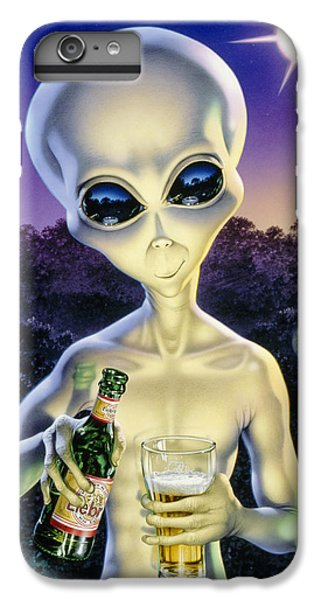 Alien Brew IPhone 6 Plus Case by Steve Read