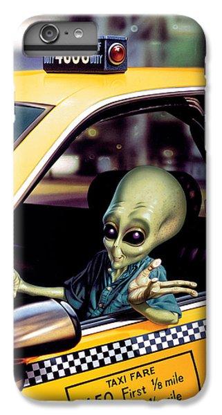 Alien Cab IPhone 6 Plus Case by Steve Read