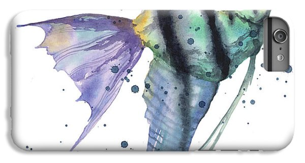 Alluring Angelfish IPhone 6 Plus Case by Alison Fennell