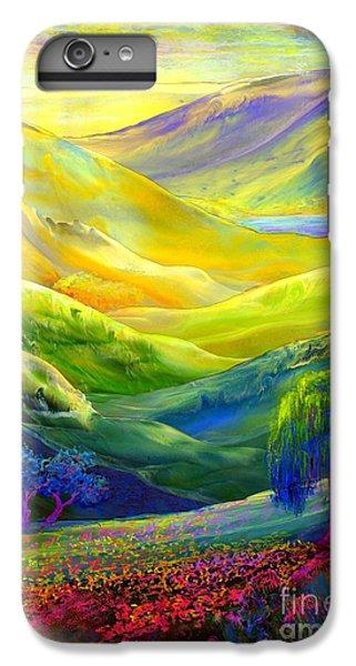 Wildflower Meadows, Amber Skies IPhone 6 Plus Case