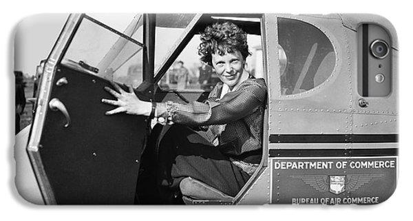 Amelia Earhart - 1936 IPhone 6 Plus Case by Daniel Hagerman
