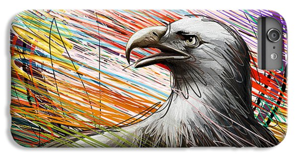 Condor iPhone 6 Plus Case - American Eagle by Peter Awax